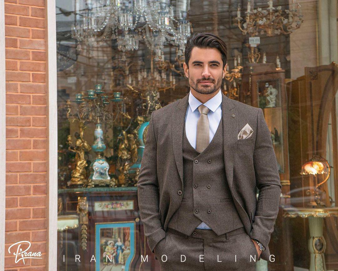 رضا مقصودیان مدل ایرانی و مدل مرد ایرانی ایران مدلینگ