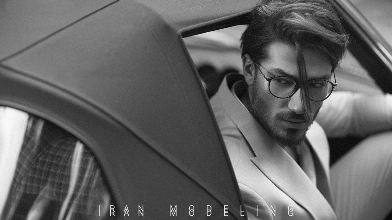 رضا مختار مدل ایرانی Reza Mokhtari iranian male model