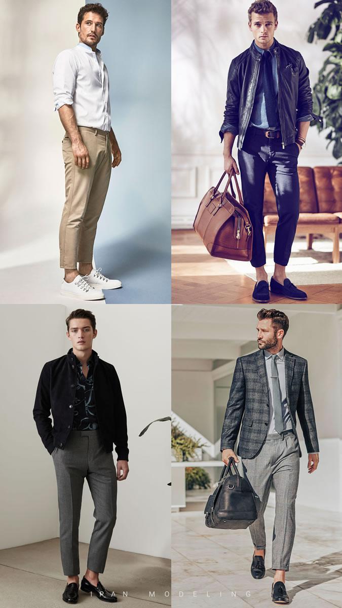 بهترین و جدیدترین شلوار های مردانه و پسرانه امسال در رنگ های مختلف و نوع فاق بلند و جذب و کتان ایران مدلینگ