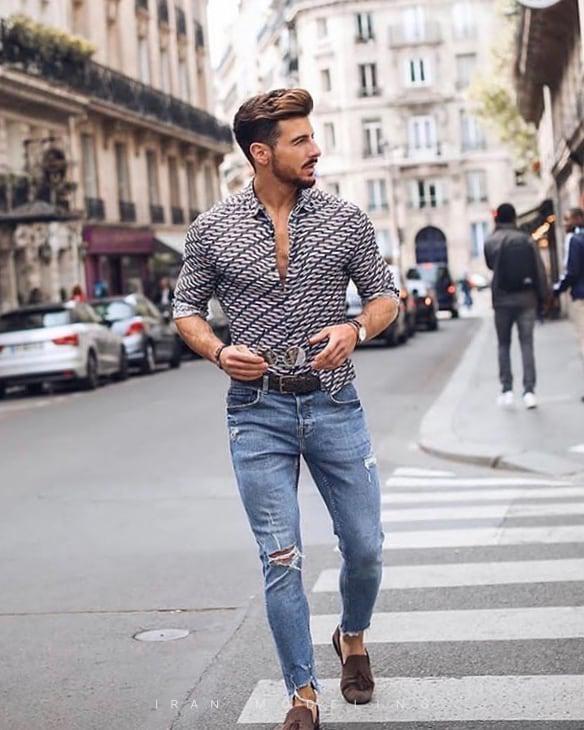 جدیدترین و بهترین استایل های خیابانی مردانه و پسرانه در انواع طرح و رنگ های کوتاه و جذب و تنگ و گشاد ایران مدلینگ