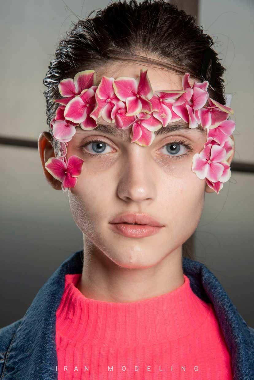 مدل های مو زیبا با گل و توری و جذاب برای عروسی و تولد و جشن ها
