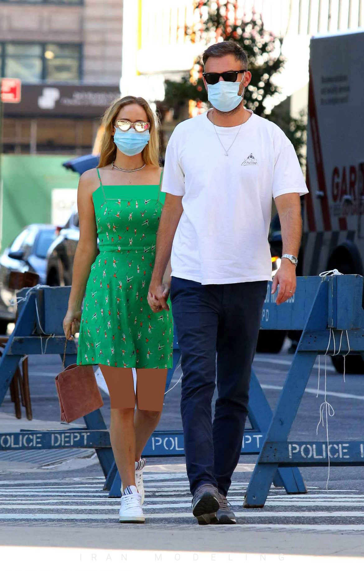 سبک لباس جنیفر لارنس و همسرش کوک مارونی در آخر هفته نیویورک