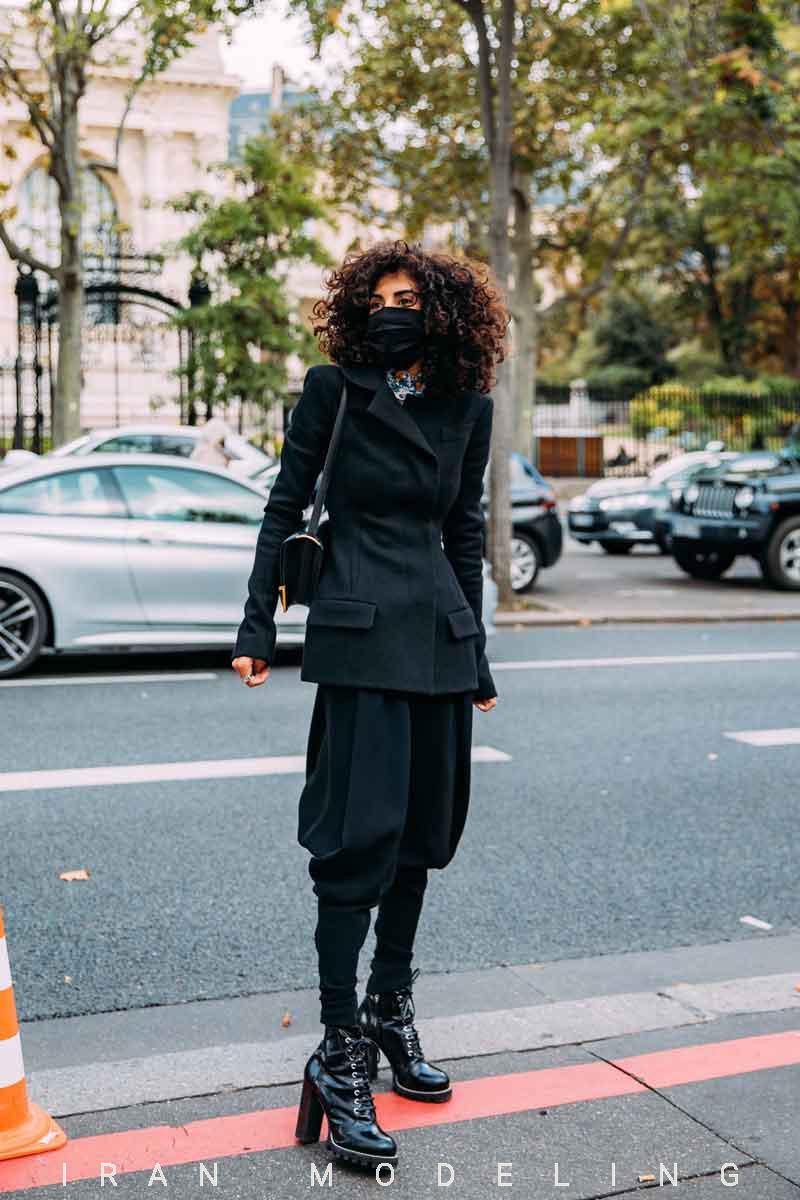 سبک خیابانی پاریس هفته مد پاریس2021
