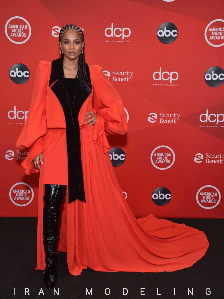 از دوا لیپا گرفته تا جنیفر لوپز بر روی فرش قرمز جوایز موسیقی 2020 آمریکا