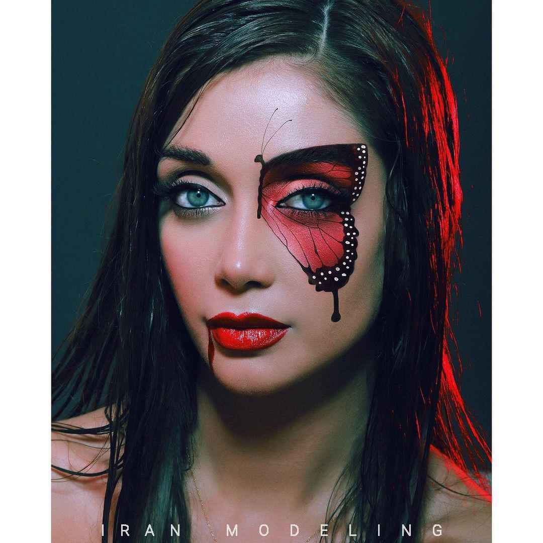 الناز گلرخ مدل زن ایرانی الناز گل رخ مدل ایرانی