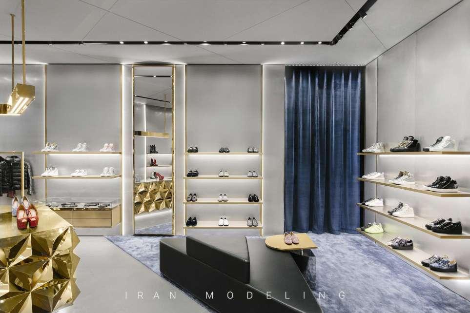 جوزپه زانوتی با ایده ای جدید، فروشگاه خود را در شانگهای افتتاح کرد