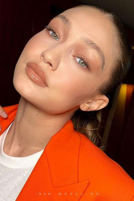 زیبایی جیجی حدید به سبک چالش های اینستاگرام