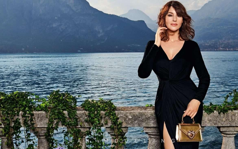 مونیکا بلوچی، چهره جدید مجموعه جدید کیف های دولچه گابانا